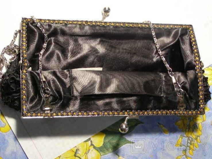 Сумка клатч бисер, фото №5