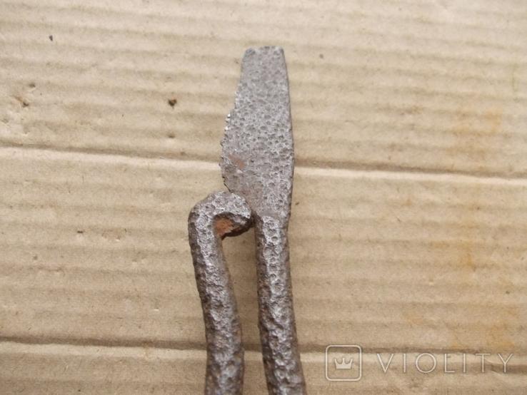 Кованный нож с позиций ПМВ, фото №5