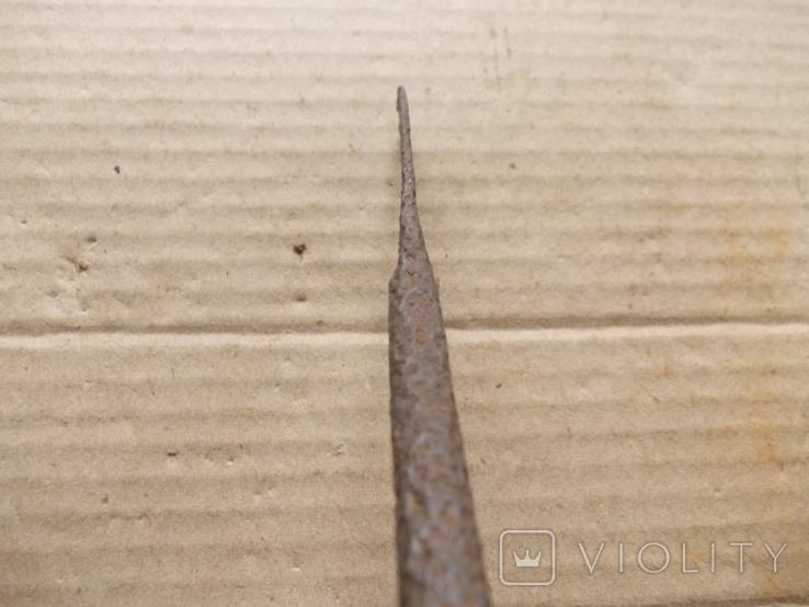 Кованный нож с позиций ПМВ, фото №6