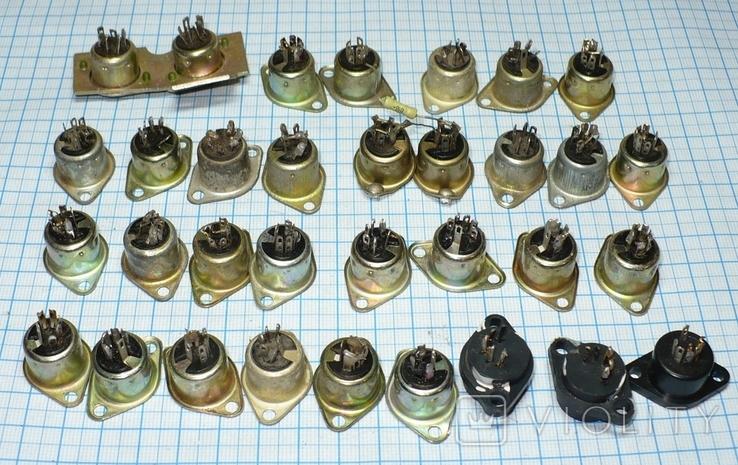 Гнездо 5 pin (СССР) 33 штуки., фото №2