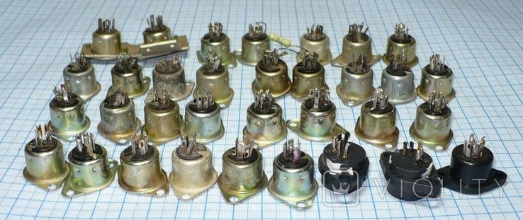 Гнездо 5 pin (СССР) 33 штуки., фото №3
