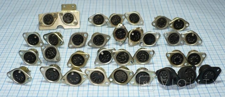 Гнездо 5 pin (СССР) 33 штуки., фото №4