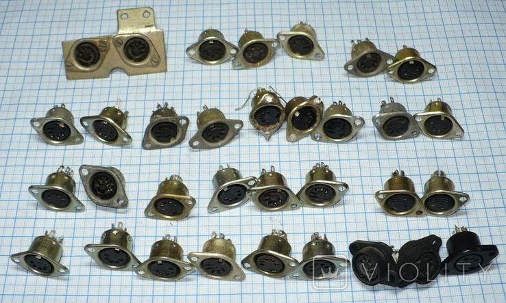 Гнездо 5 pin (СССР) 33 штуки., фото №5