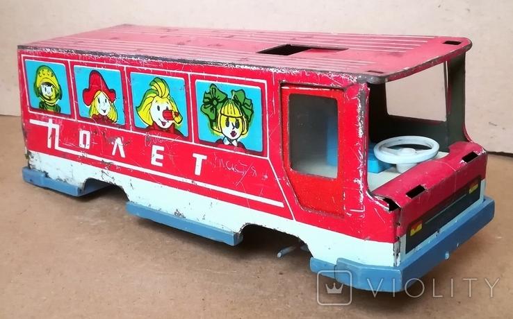 Автобус игрушка Полет з-д Ватутина, фото №3