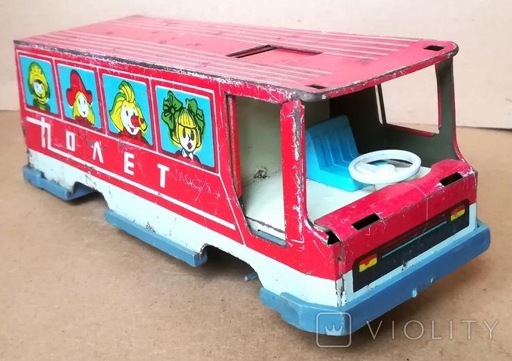 Автобус игрушка Полет з-д Ватутина, фото №4