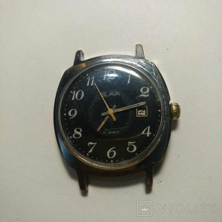 SLAVA , 21 jewels , made in USSR, фото №3
