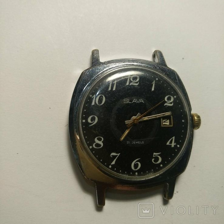 SLAVA , 21 jewels , made in USSR, фото №5