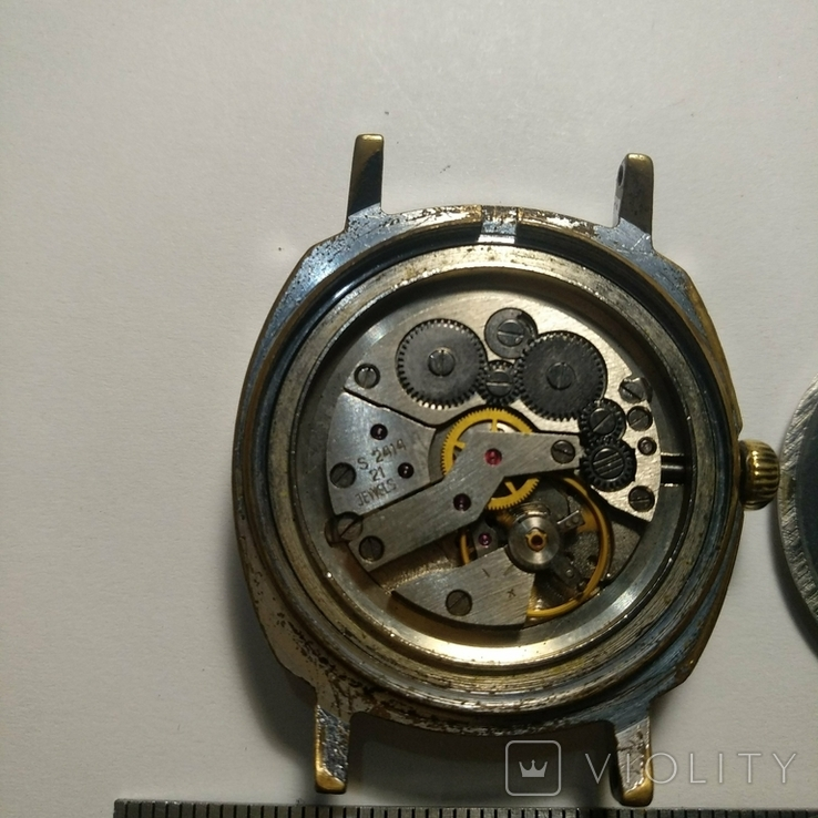 SLAVA , 21 jewels , made in USSR, фото №8