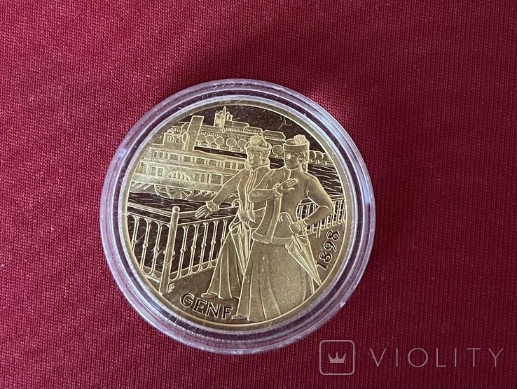 1000 шиллінгів Імператриця Єлизавета 1998, фото №3