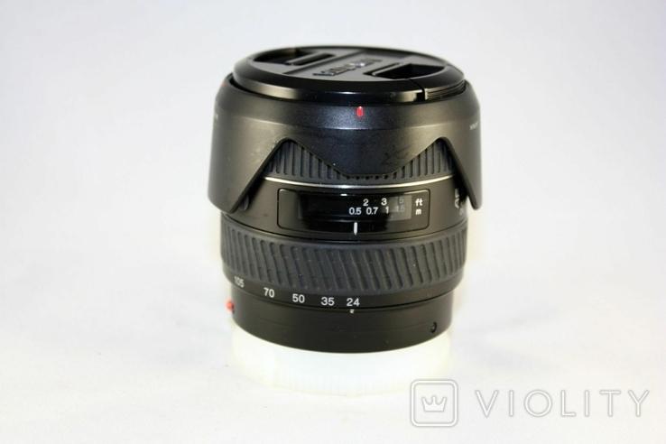 Minolta AF ZOOM 24-105mm f3.5-4.5D., фото №2