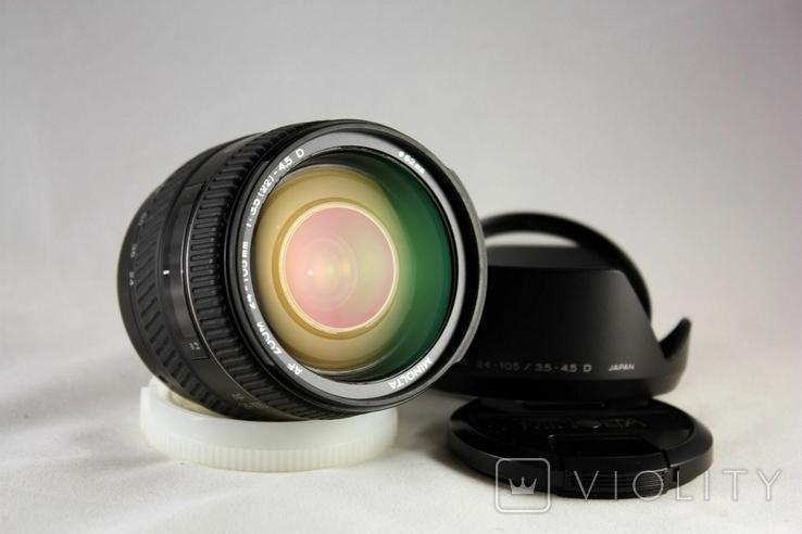 Minolta AF ZOOM 24-105mm f3.5-4.5D., фото №3