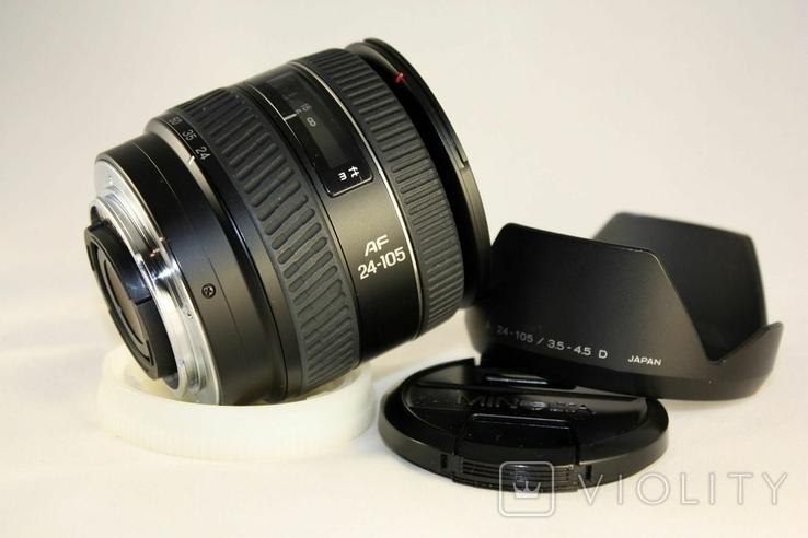 Minolta AF ZOOM 24-105mm f3.5-4.5D., фото №5