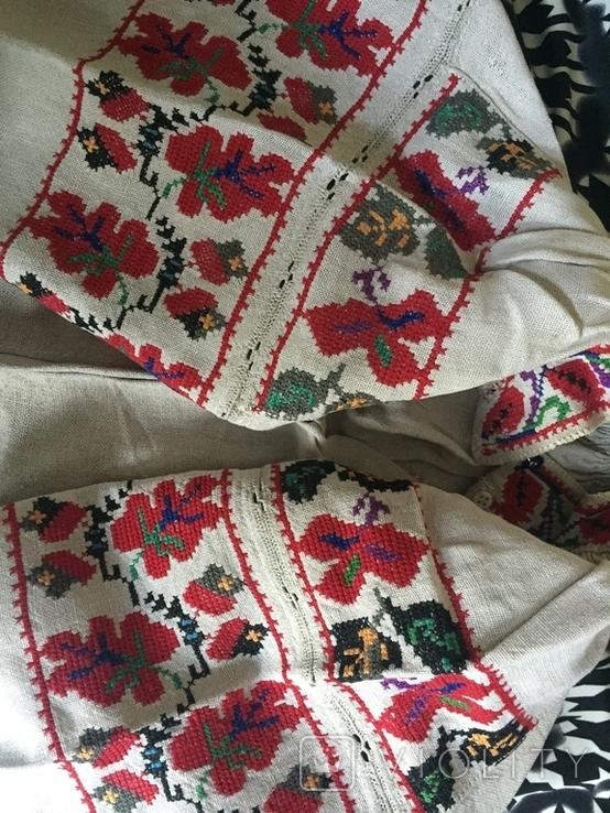 Сорочка старинная ручной работы, фото №2