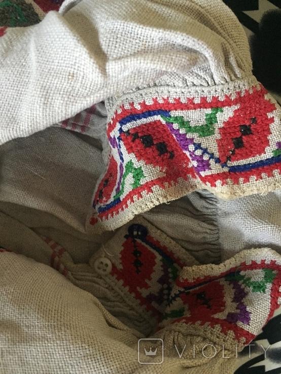 Сорочка старинная ручной работы, фото №3