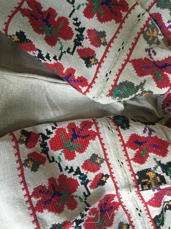 Сорочка старинная ручной работы, фото №6