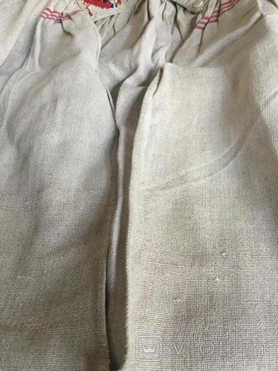 Сорочка старинная ручной работы, фото №9