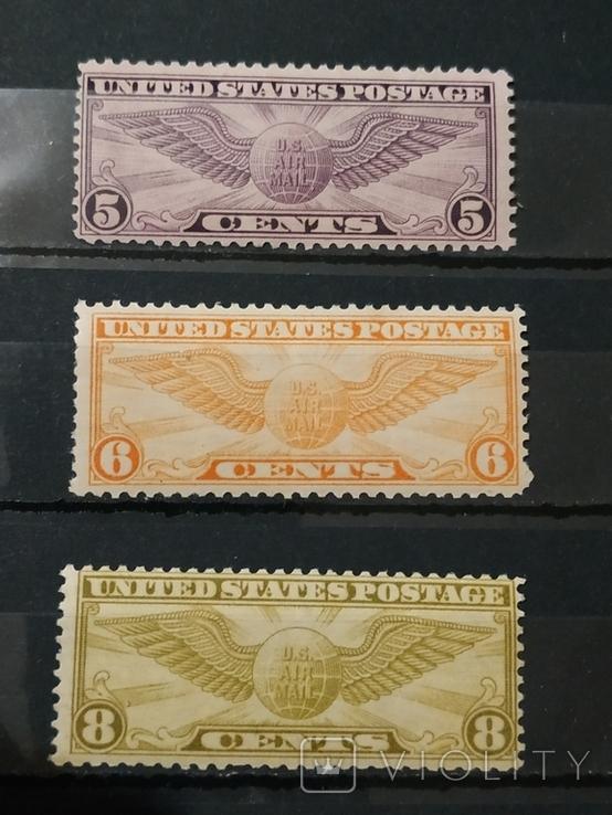 США MNH 1930г. Полная серия