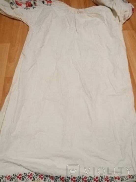 Калінкорова сорочка вишита хрестиком, фото №5