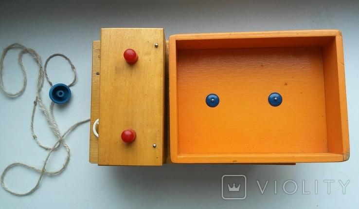 Деревянная грузовая машинка для детей, из СССР., фото №5