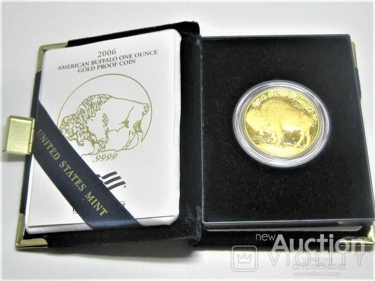 США 50 долларов 2006 г. PROOF, фото №2