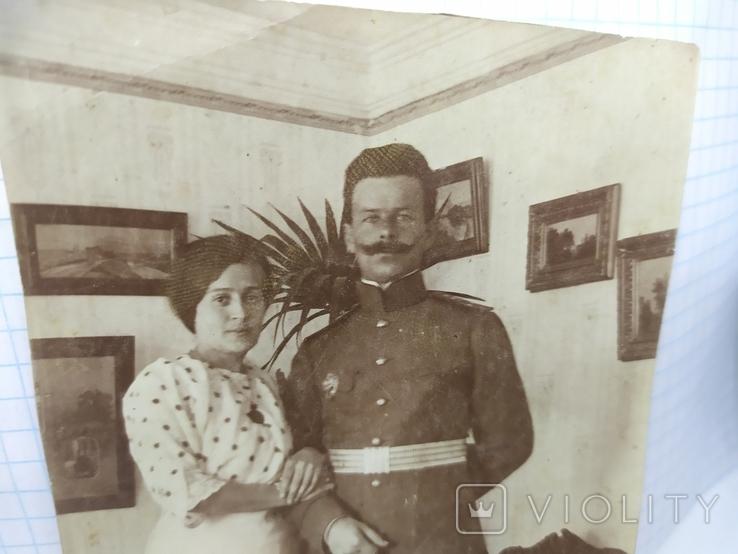 Фото Офицер с супругой, фото №3
