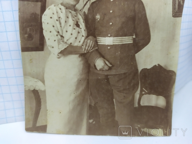 Фото Офицер с супругой, фото №4