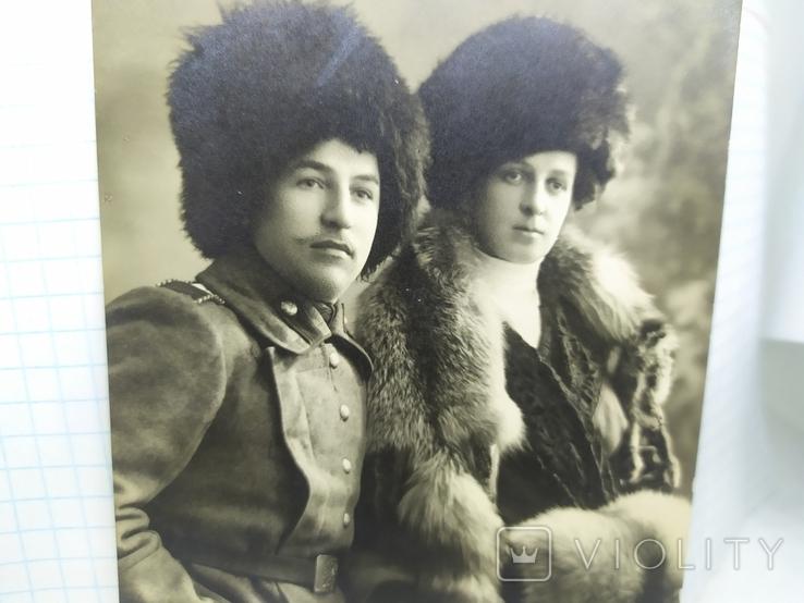 Фото Владивосток. Унтер-офицер Сибирского стрелкового полка с дамой, фото №3