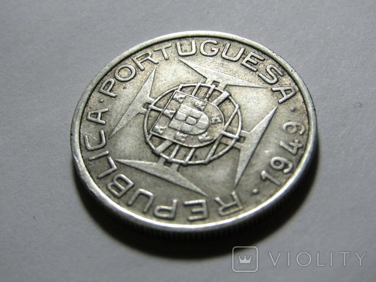 5 эскудо 1949 Мозамбик, фото №8