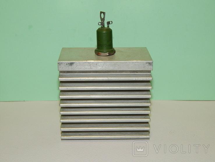 Охладитель и 2 оптотиристора ТО132-40, фото №2