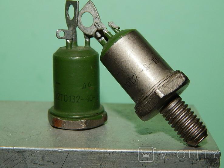 Охладитель и 2 оптотиристора ТО132-40, фото №6