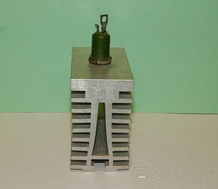 Охладитель и 2 оптотиристора ТО132-40, фото №11