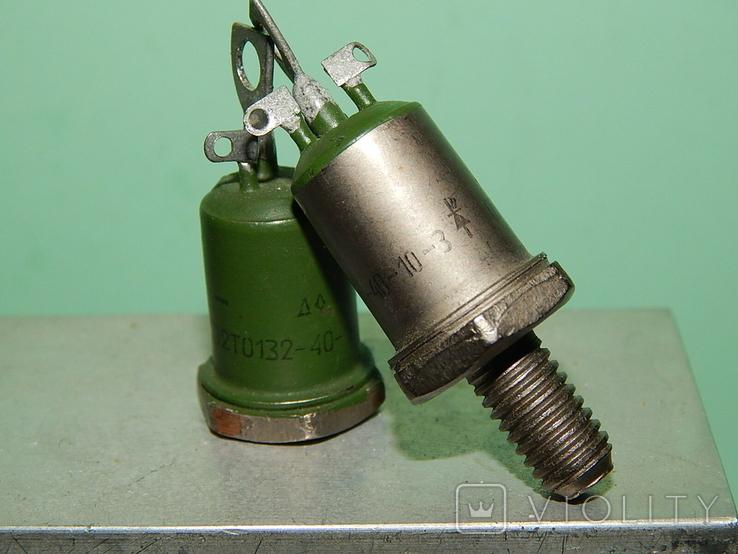 Охладитель и 2 оптотиристора ТО132-40, фото №13