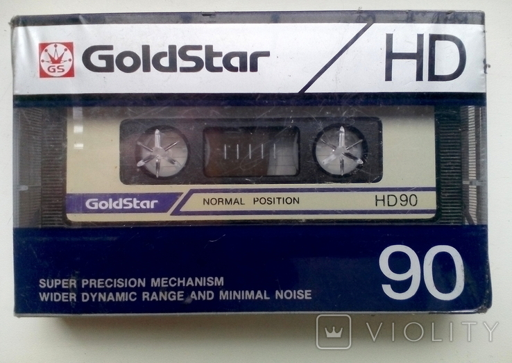 """ Аудиокассета "" Goldstar HD 90, фото №2"