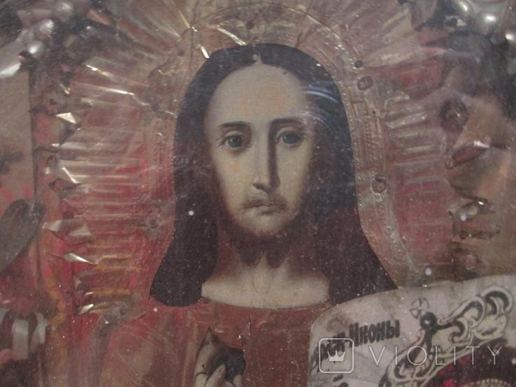 Икона Исуса  Христа , дерево., фото №2