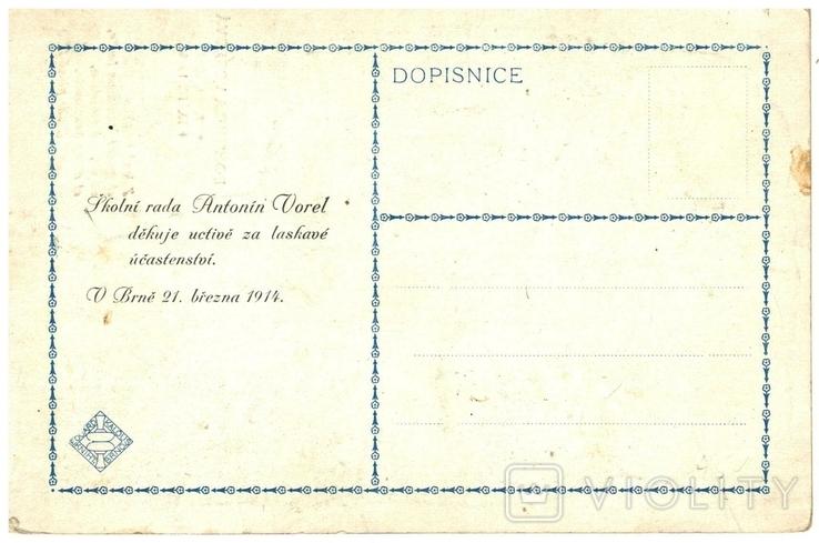 Открытка 1914 год Первая мировая война Брно Моравия Чехия, фото №3