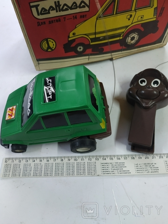 Машина на радіо керуванні з пультом Тернава (робоча), фото №3