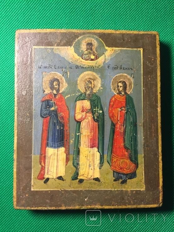 Святые мученики Гурий, Самон и Авив., фото №2