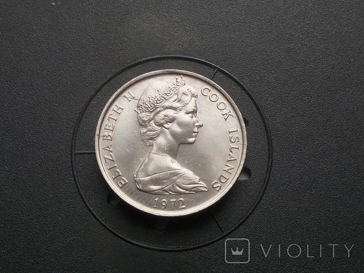 Острова кука 10 центов 1972   тираж 35.000  (N), фото №3