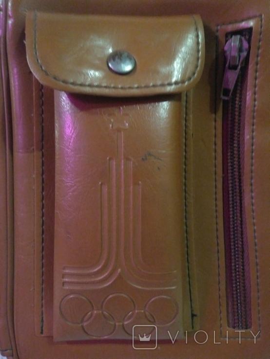 Кубок и барсетка с символикой Олимпиады., фото №11