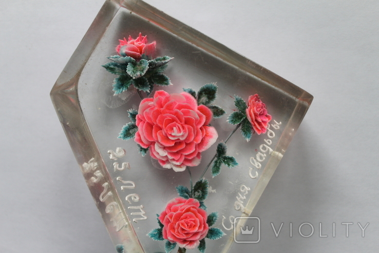 Сувенир Розы оргстекло + бонус, фото №6