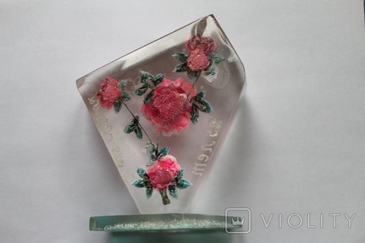 Сувенир Розы оргстекло + бонус, фото №10