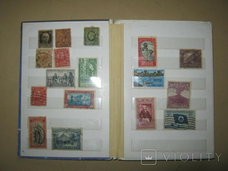 Почтовые марки США, Канады,Австралии и пр. стран Мира 39 шт., фото №2