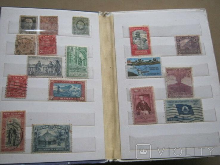 Почтовые марки США, Канады,Австралии и пр. стран Мира 39 шт., фото №3
