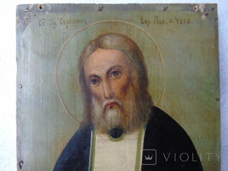 Икона Серафима Саровского, фото №2