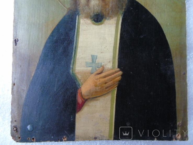 Икона Серафима Саровского, фото №5