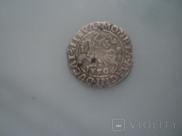Полугрош 1550, фото №3