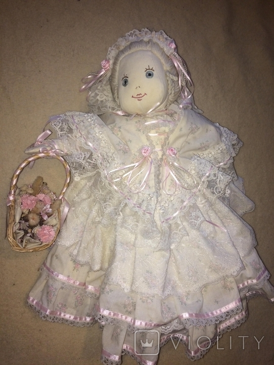 Кукла тряпичная, Англия, фото №2