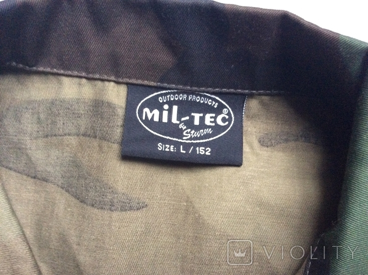 Детская камуфляжная куртка Джунгли, б/у, фото №3