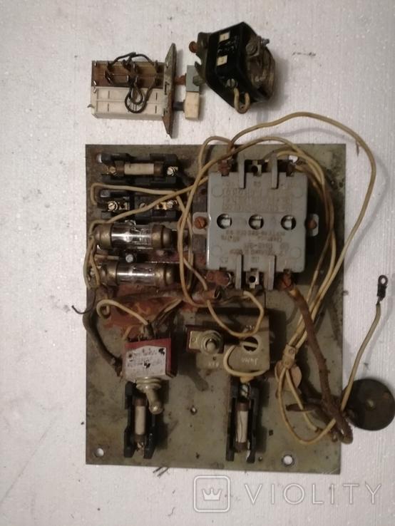Щиток електричний ссср+переключателі, фото №2