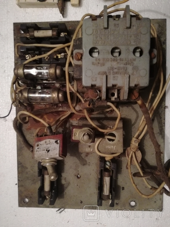 Щиток електричний ссср+переключателі, фото №3
